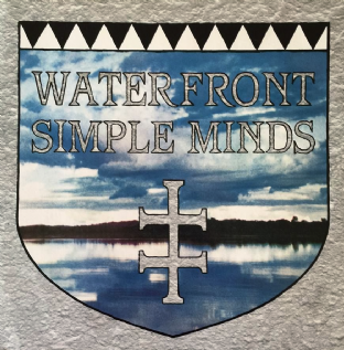 "Simple Minds ‎- Waterfront (12"") (G/VG+)"